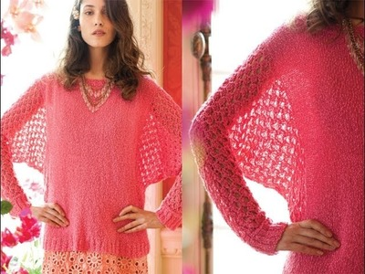 #10 Dolman Top, Vogue Knitting Early Fall 2013