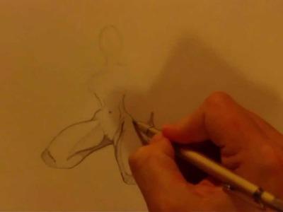 ASMR Calm Pencil Drawing
