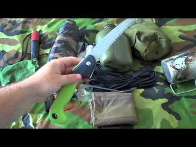 Bushcraft, Camping, Survival Kit Part 1