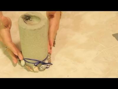 Craft Ideas Using Pillar Candles : Craft Project Ideas
