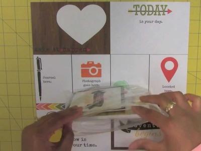 Craft Scrapbook Storage Tip: 6x6 Paper Pads