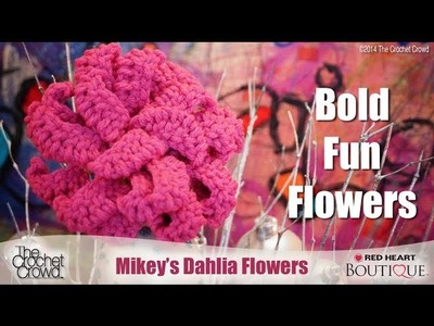 Crochet Dahlia Flower Tutorial