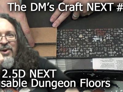 D&D NEXT Reusable Dungeon Floors (DM's Craft NEXT #2)