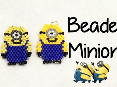 DIY Beaded Minion Charm ¦ The Corner of Craft