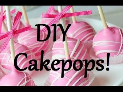 DIY Cakepops! {Easy Dessert} | Smartie and Steveo