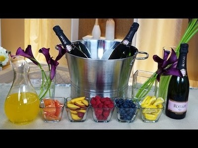 DIY Champagne Bar Ideas for Your Wedding! | Happiest Hour