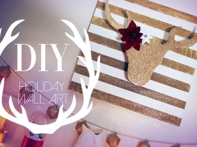 DIY Christmas Reindeer Decor | #DIYMAS | ANNEORSHINE
