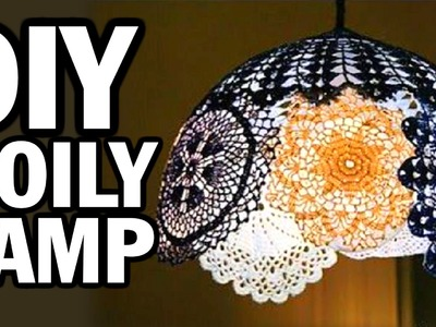 DIY Doily Lamp - Man Vs. Pin - Pinterest Test #44