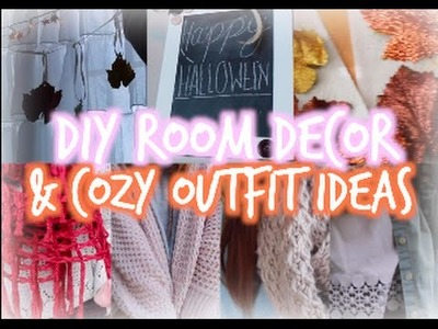 DIY Fall Room Decor + Cozy Outfit Ideas!