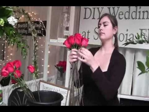 DIY Hand Tied Bouquet
