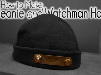 DIY | How to Sew Easy Watchman Hat | beanie | Winter Hat with one Pattern