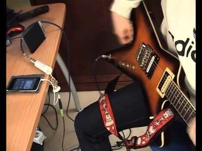 DIY iRig Test and schematic : homemade iRig (with impedance matcher) guitar to ipod, iphone, ipad