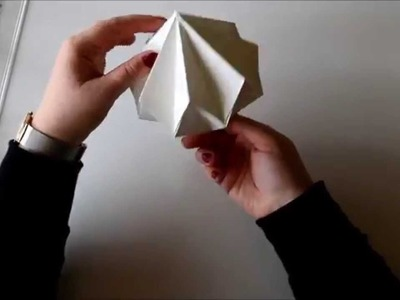 DIY Origami Diamond