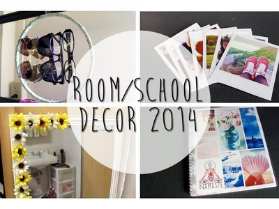 DIY: Room. School Decor Ideas 2014 (Polaroids, tumblr, etc)