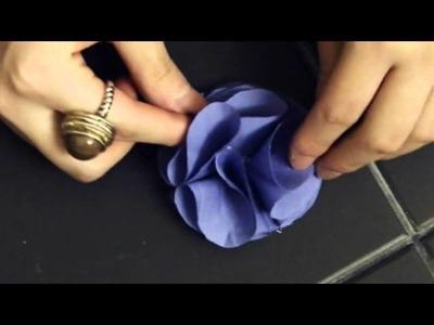 DIY Sewing Flowers