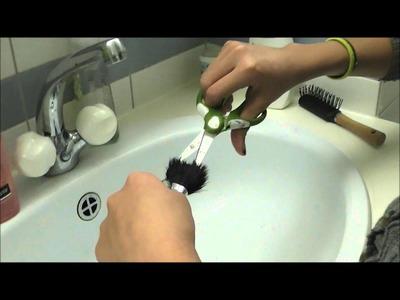 DIY Stippiling Brush