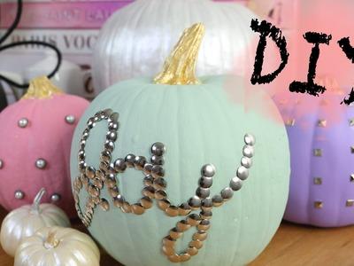DIY Thanksgiving Pumpkin Home Decor | ANNEORSHINE
