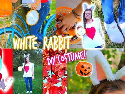 DIY: White Rabbit Halloween Costume!