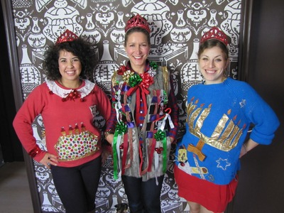 "DIY Your ""Ugly"" Christmas Sweaters"