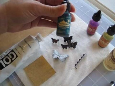 Easy Altered Metal: Mixed-media Tutorial