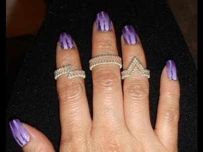 Handmade Jewelry: Fingertip Rings Above Knuckle