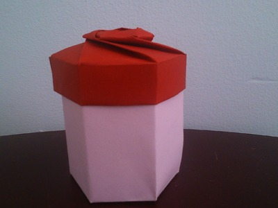 Hexagon Gift Box Origami - Tutorial - part 01