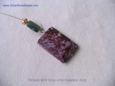 How to create a Hinged Pendant