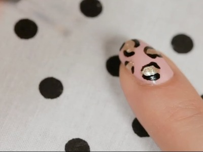 How to Create a Leopard Print | Nail Art
