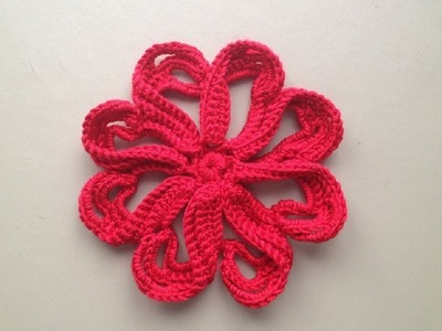 How to Crochet a Flower Pattern #12 by ThePatterfamily