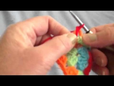 How to crochet a Spiral Granny Square Part 2