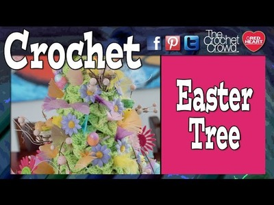 How To Crochet Easter.Spring Topiary Trees