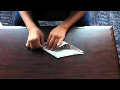 How to fold a paper crane - Japan (Tohoku) Earthquake and Tsunami Disaster Relief