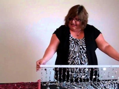 How To Hang a Beaded Curtain - ShopWildThings Video Time With Tina