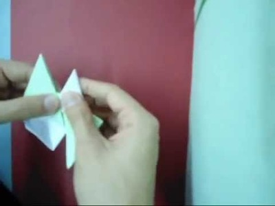 How to make a Origami Star (Shuriken) [Ninja Star]