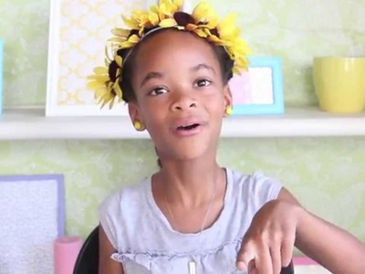 How to Make a Sunflower Headband