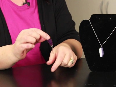 How to Make an Agate Necklace : DIY Jewelry & Necklaces