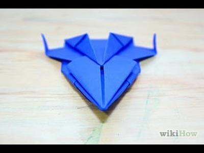 How To Make Origami Spaceship