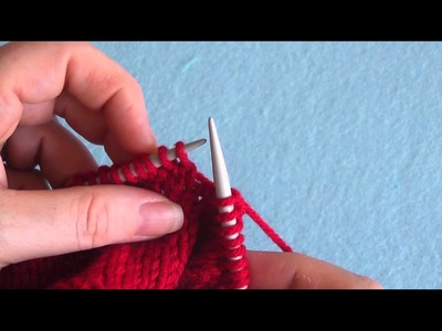 How To: Slip 1 Knitwise (sl1k or sl1)