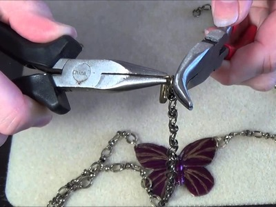 Jewelry Making: Attaching Chains with Jump Rings and Adding Clasps