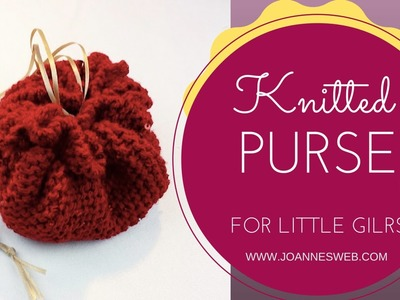 Knitted Purse for Girls
