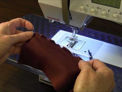 Lettuce Edge Hem - Sewing Tutorial