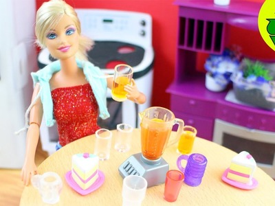 Make doll drinking glasses, cups and mugs- Doll Crafts