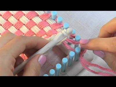 Martha Stewart Crafts Loom-Binding Off Weaving