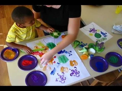 Painting with Fruits and Veggies
