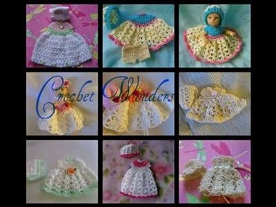 Thread Crochet Doll Clothes