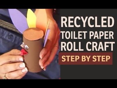 Toilet Paper Roll Craft  - Turkey & Cat (Hindi)