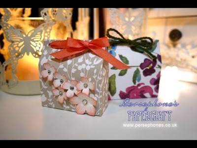 3x6 Series: Domed Box | Stampin' Up (UK) with Persephone's Papercraft