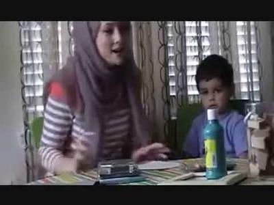 5 Pillars of Islam Craft for Kids