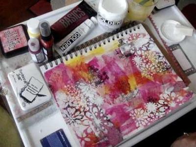 Art Journal Background Layers pt 2
