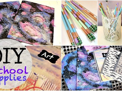 Back To School: DIY School Supplies!! 2014
